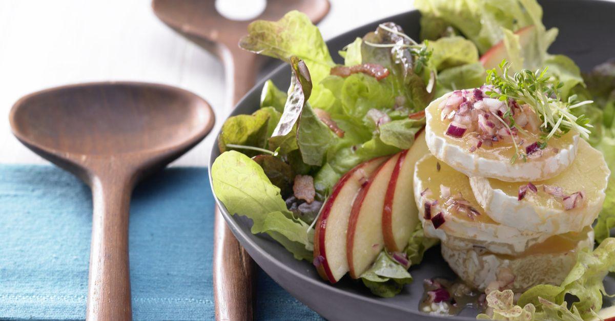 Eichblatt-Kresse-Salat