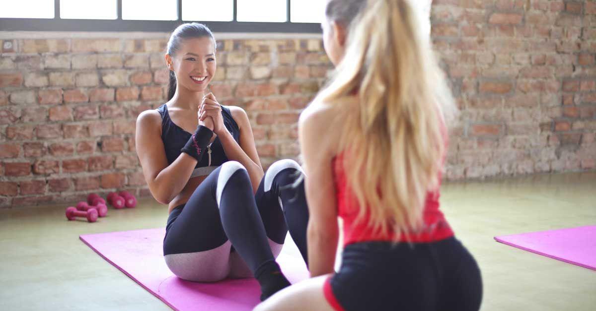 Übungen zum Abnehmen sehr fetter Beine