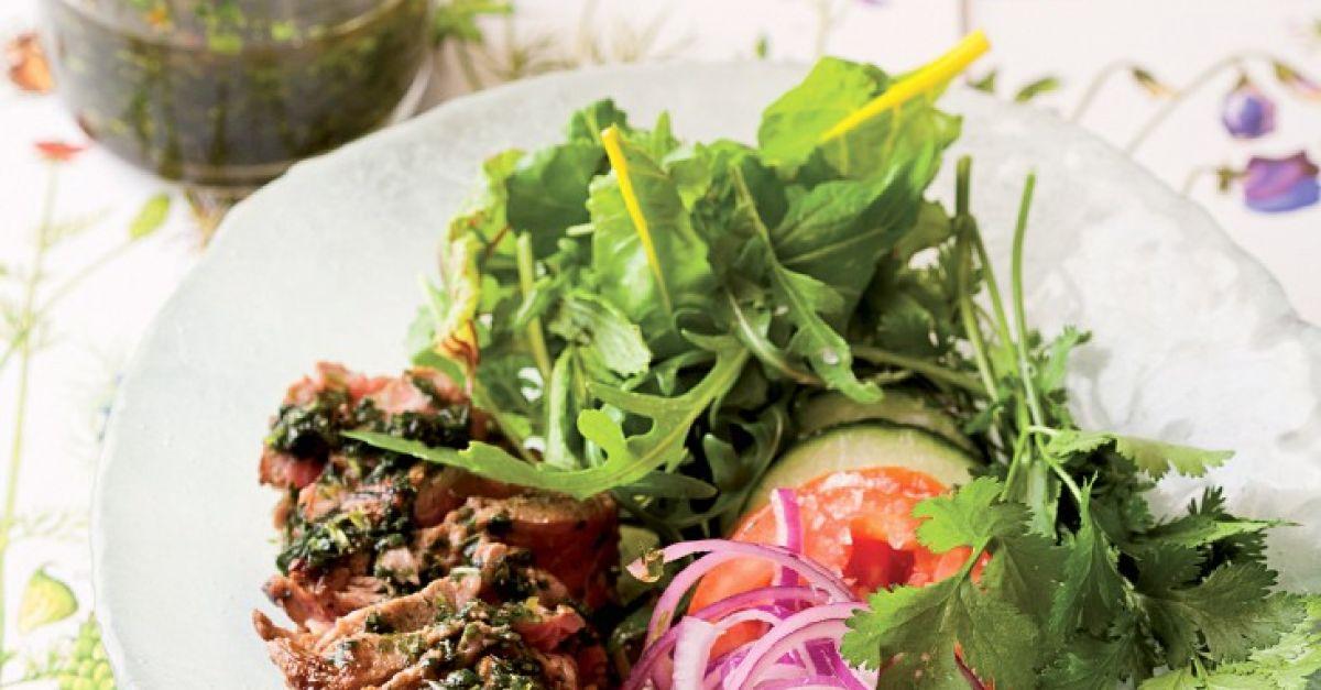 Gemischter Salat Mit Rinderfilet Und Kräuterdressing Rezept Eat