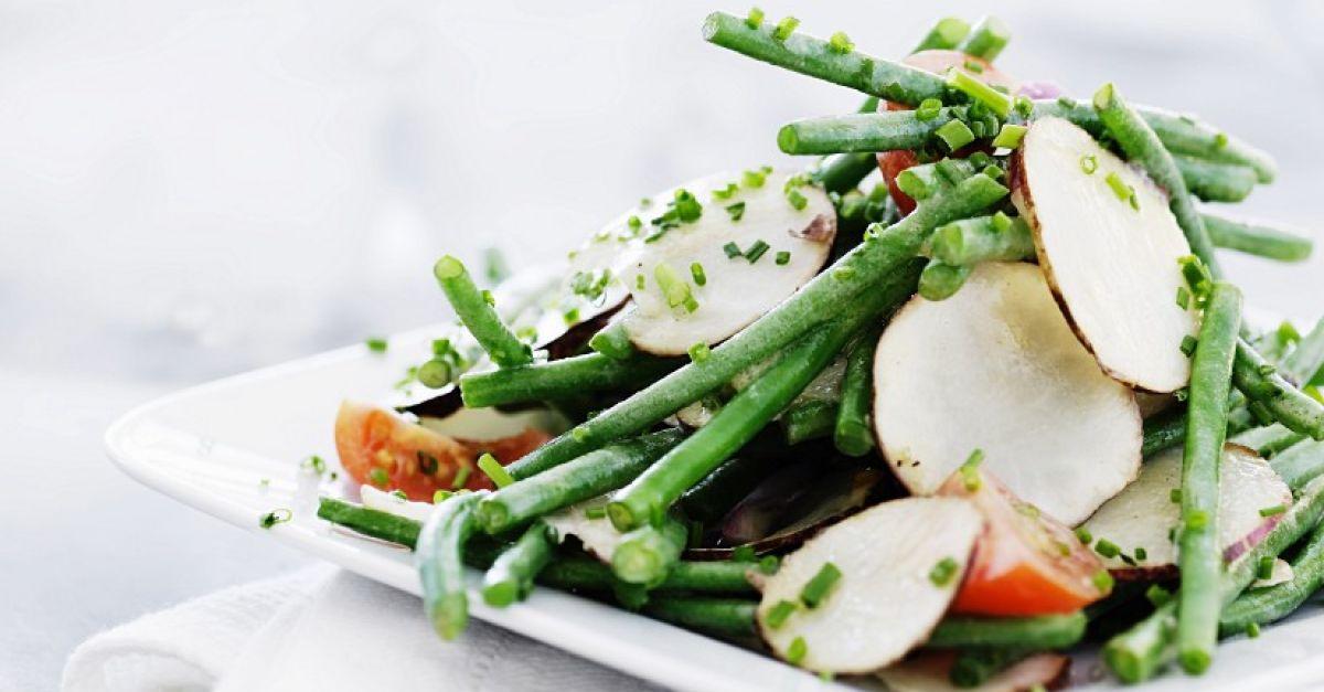 gr ne bohnen salat mit topinamburscheiben rezept eat smarter. Black Bedroom Furniture Sets. Home Design Ideas