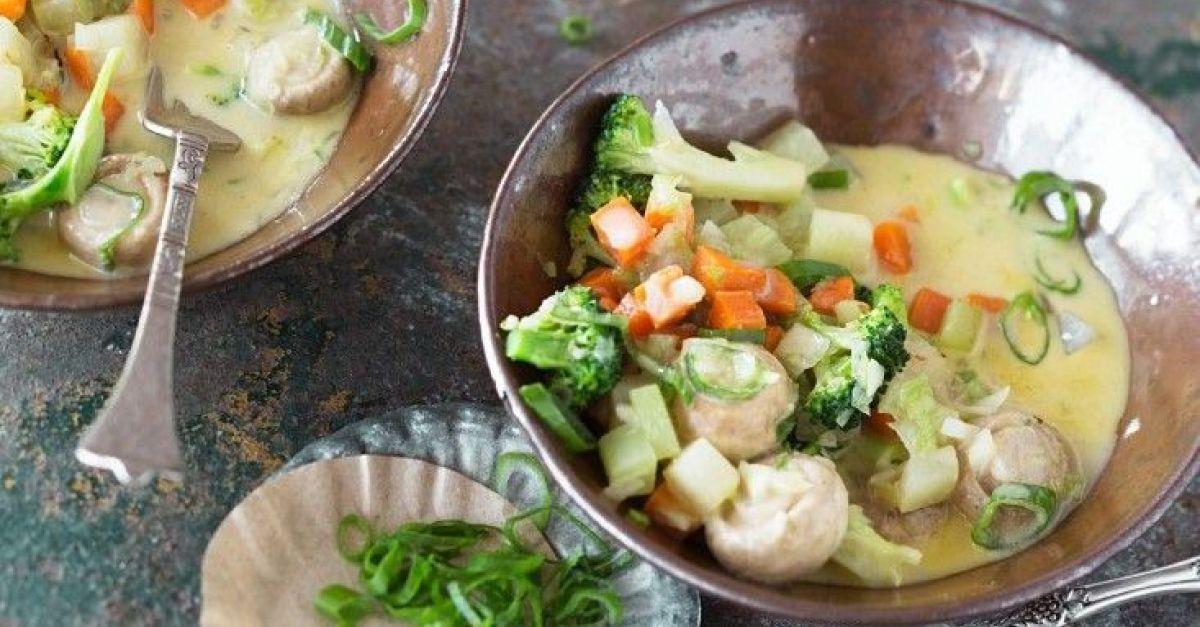 Grünes Curry mit Gemüse