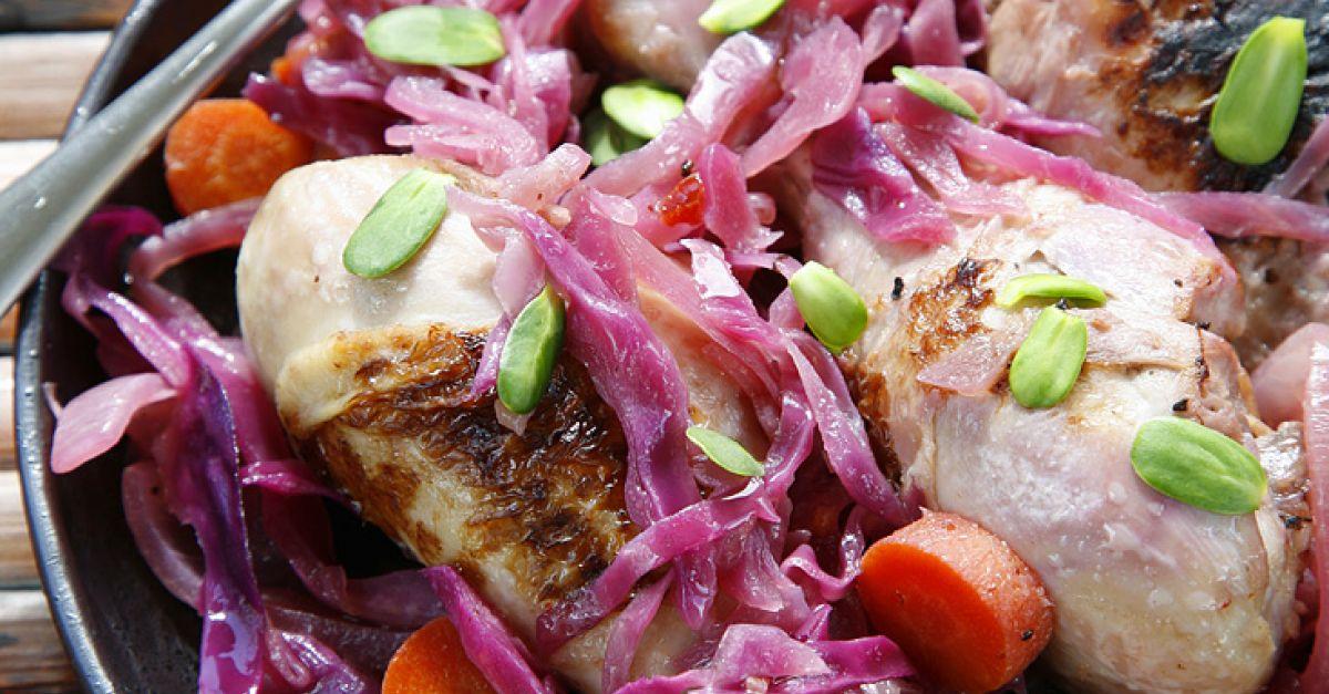 Hähnchen mit Rotkohl Rezept | EAT SMARTER