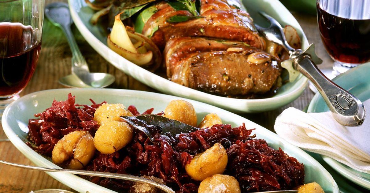 Hirschrücken Mit Rotkohl Rezept Eat Smarter