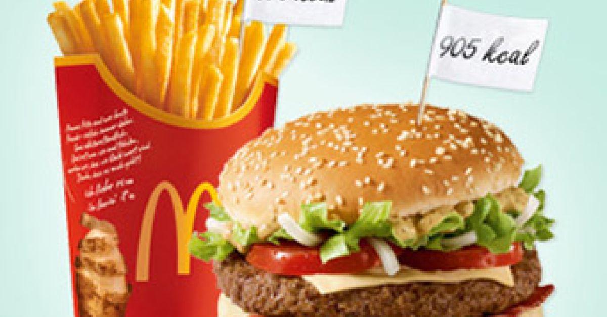 was ist ein doppelpack menü bei mcdonalds