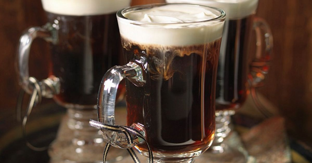 irish coffee zu weihnachten rezept eat smarter. Black Bedroom Furniture Sets. Home Design Ideas