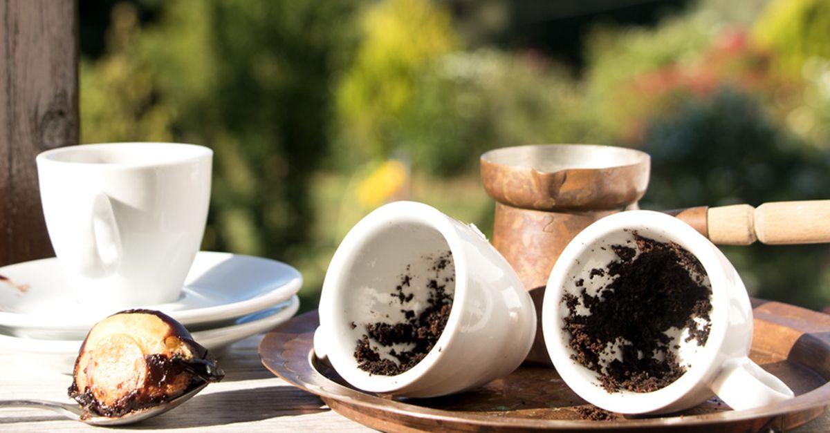 Kaffeesatz Garten