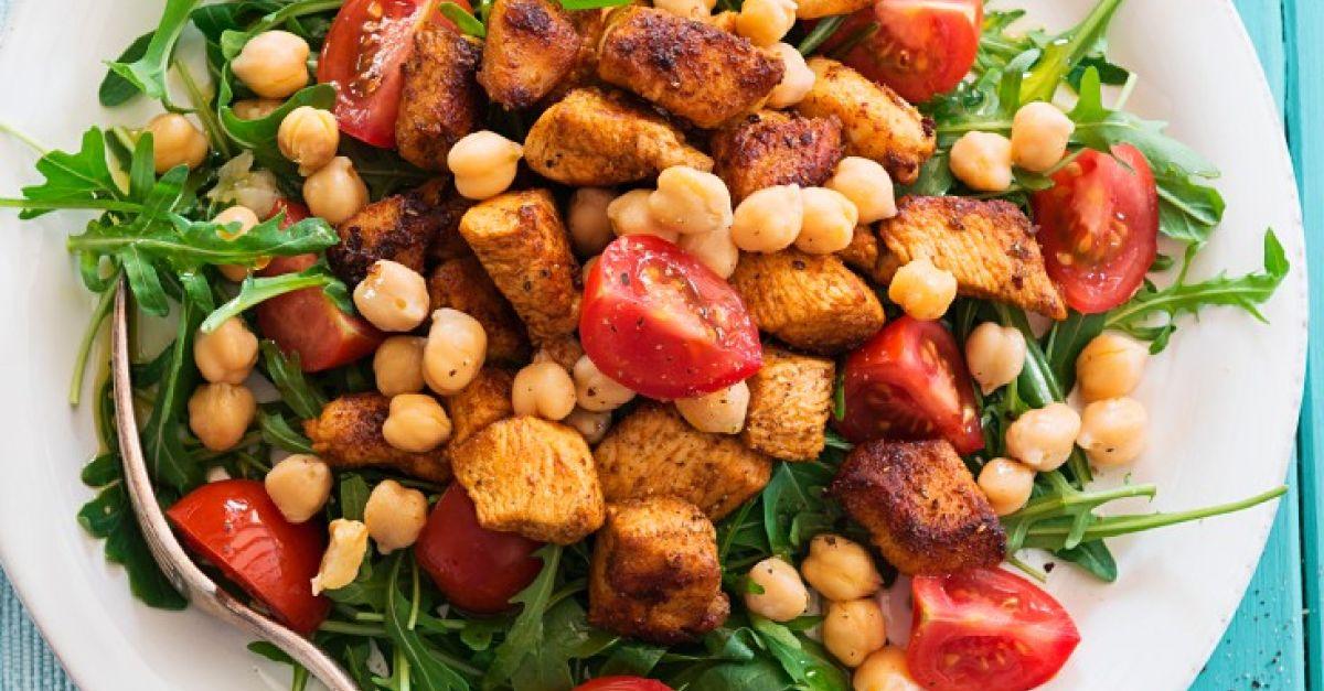 Sommergerichte Mit Schweinefleisch : Kicherersben und schweinefleisch auf rucola rezept eat smarter