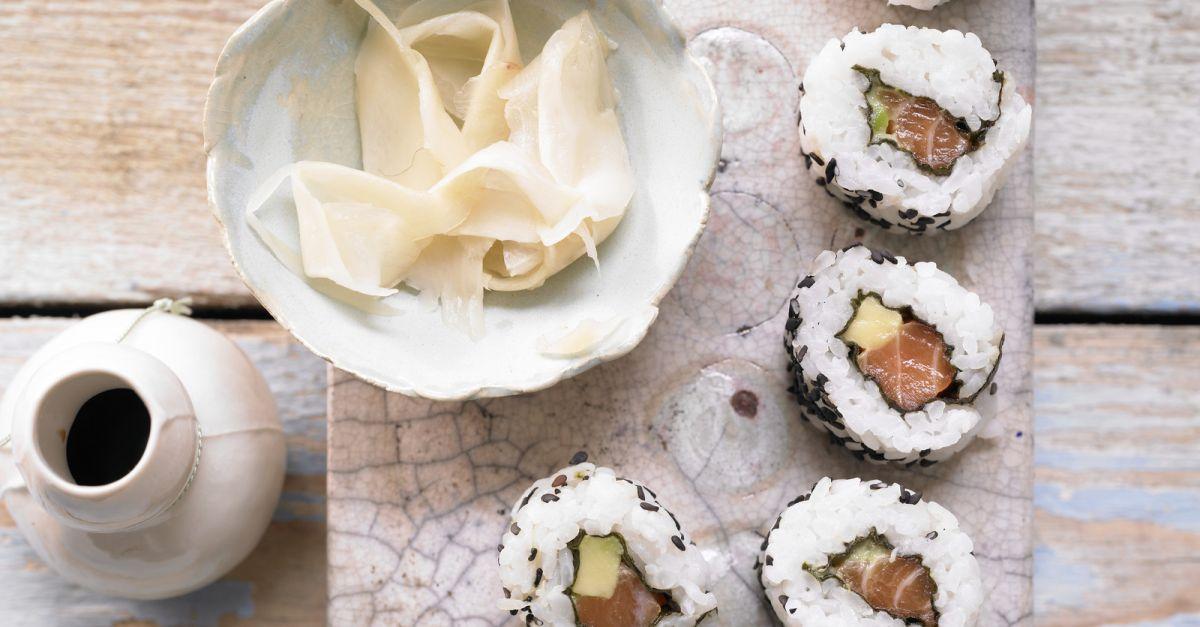 lachs sushi rezept eat smarter. Black Bedroom Furniture Sets. Home Design Ideas