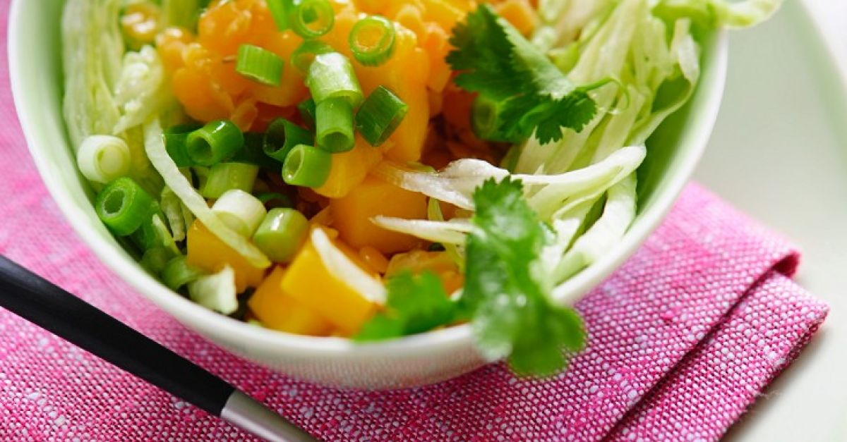 linsen k rbis salat rezept eat smarter. Black Bedroom Furniture Sets. Home Design Ideas
