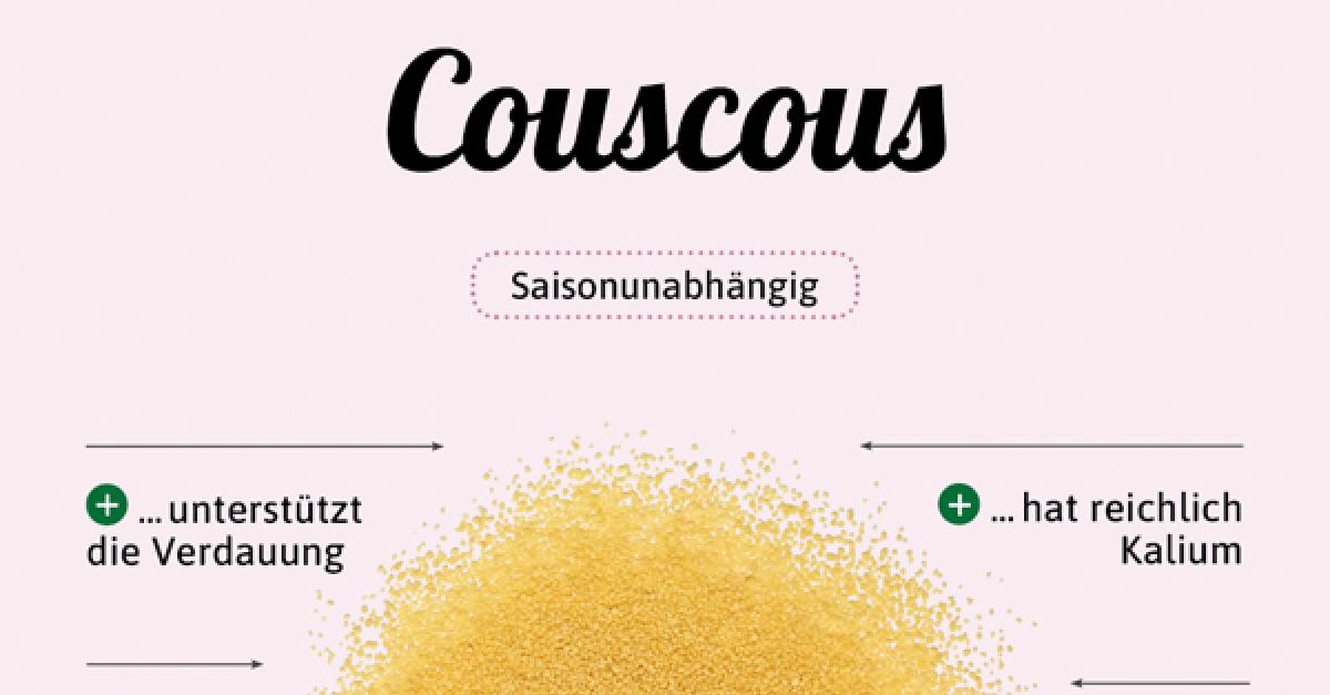 couscous nährwerte