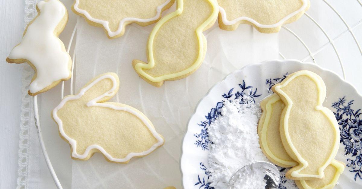 Zuckerguß Auf Kalten Oder Warmen Kuchen