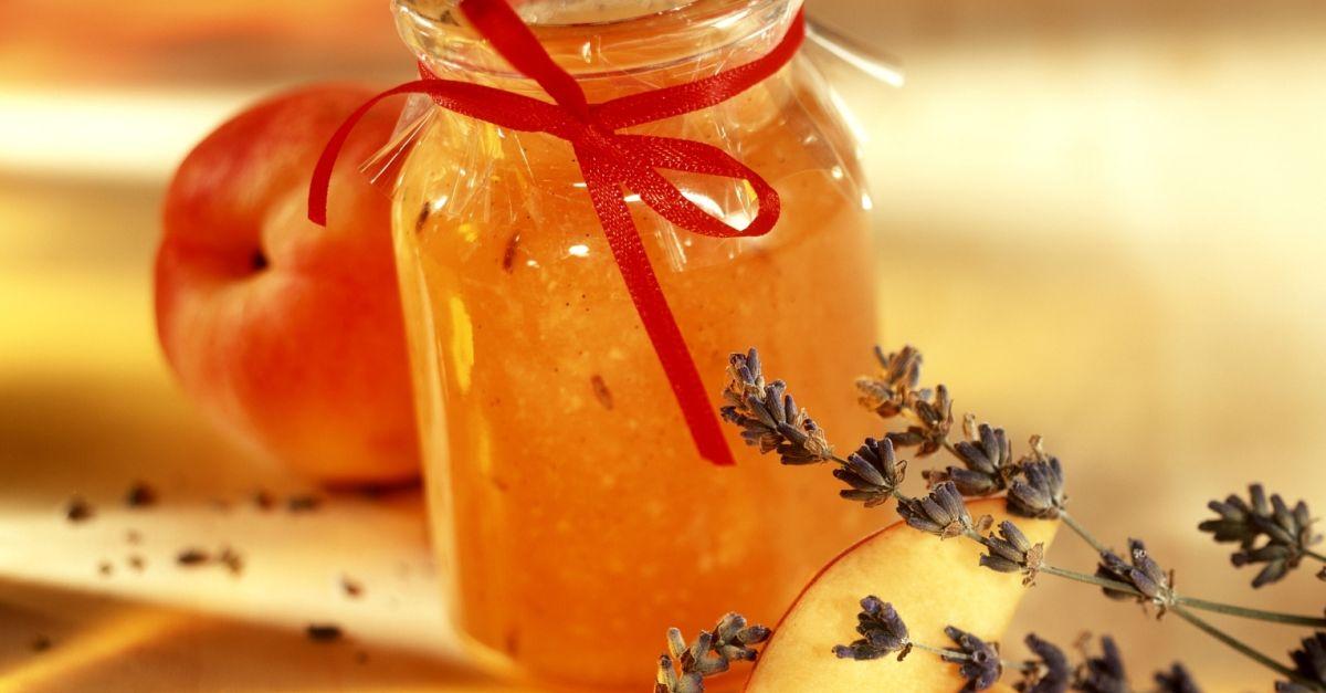 pfirsich lavendel marmelade mit vanille rezept eat smarter. Black Bedroom Furniture Sets. Home Design Ideas