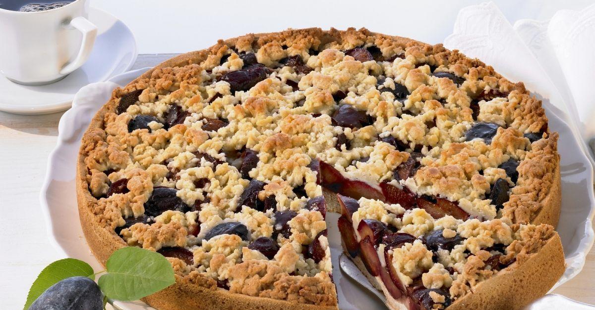 Pflaumen Streusel Kuchen Rezept Eat Smarter