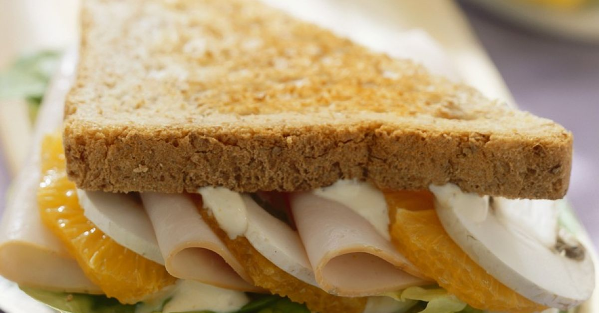 putenbrust orangen sandwich rezept eat smarter. Black Bedroom Furniture Sets. Home Design Ideas