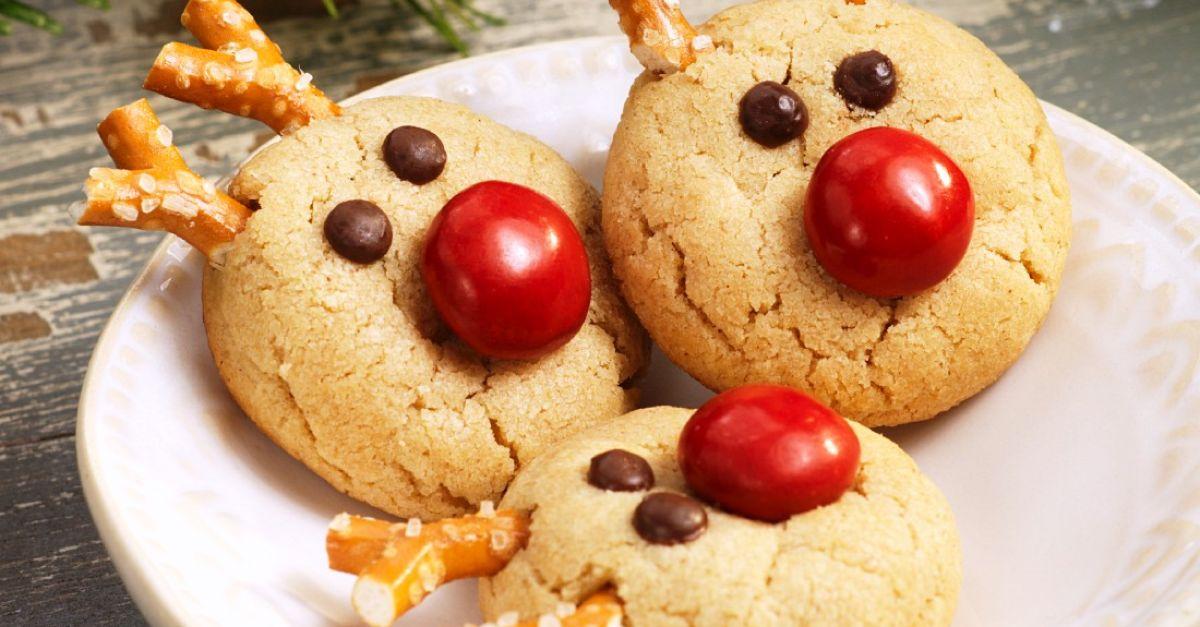 rentier kekse zu weihnachten rezept eat smarter. Black Bedroom Furniture Sets. Home Design Ideas