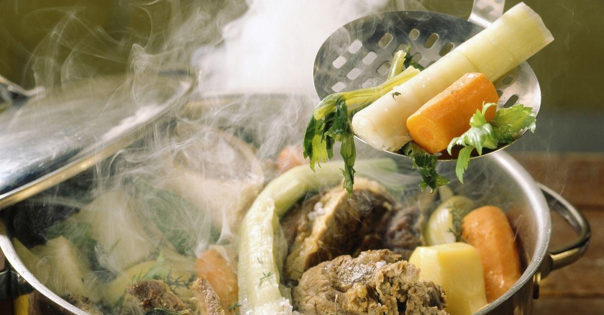 Rindfleisch Gemüse Topf Auf Französische Art Pot Au Feu Rezept