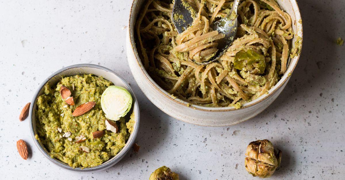 Rosenkohl-Pesto selber machen – so einfach geht's