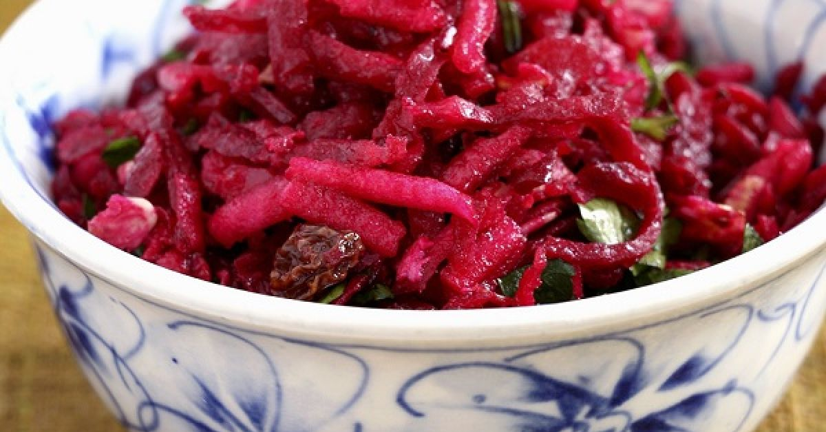 rote bete salat russisch