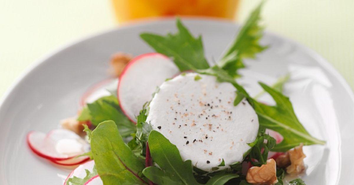 salat mit n ssen und ziegenk se rezept eat smarter. Black Bedroom Furniture Sets. Home Design Ideas