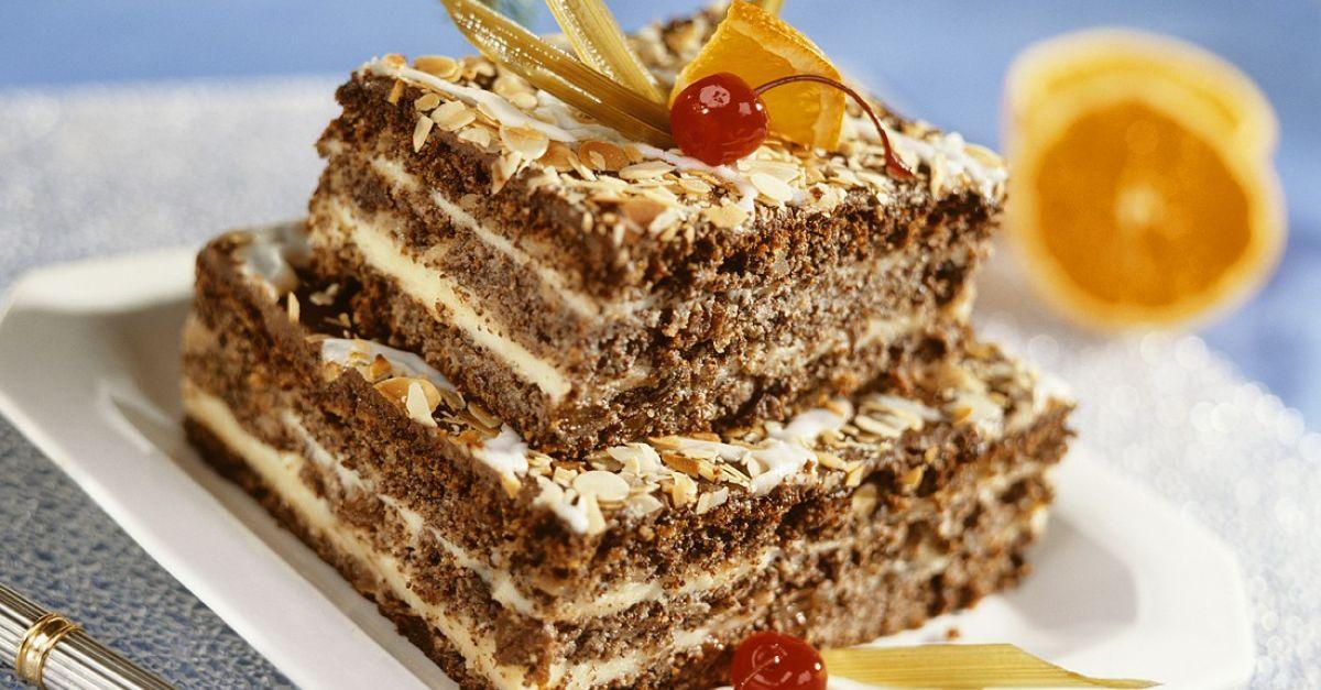 Schoko Nuss Torte Mit Cremiger Vanillefüllung Rezept Eat Smarter