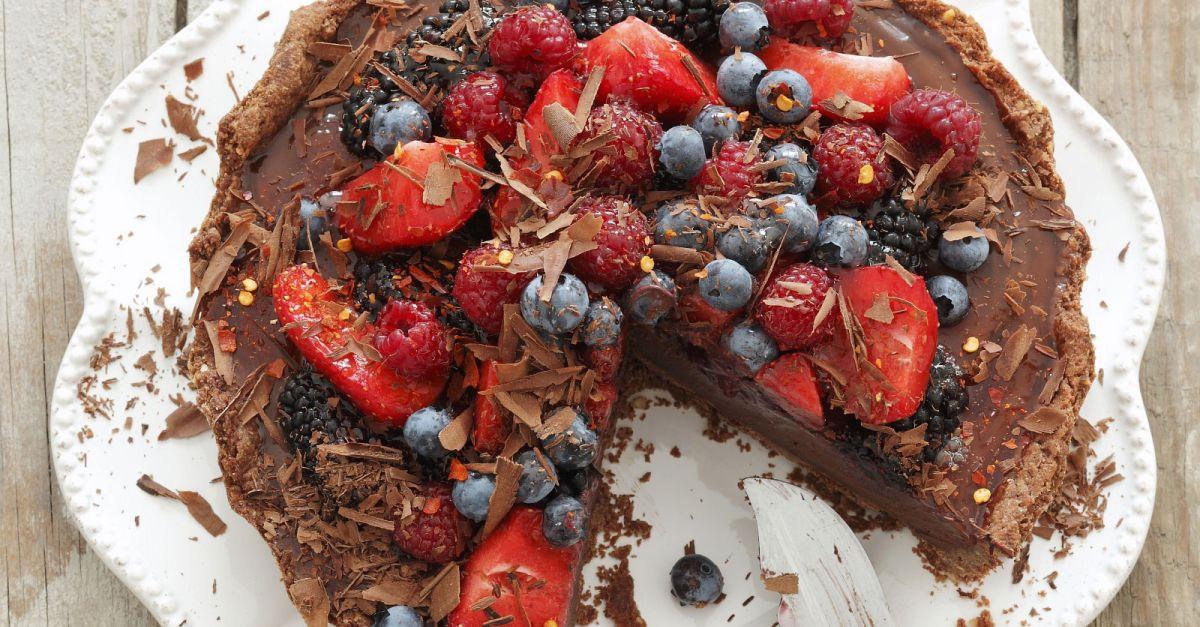 Schokoladen Beeren Kuchen Rezept Eat Smarter