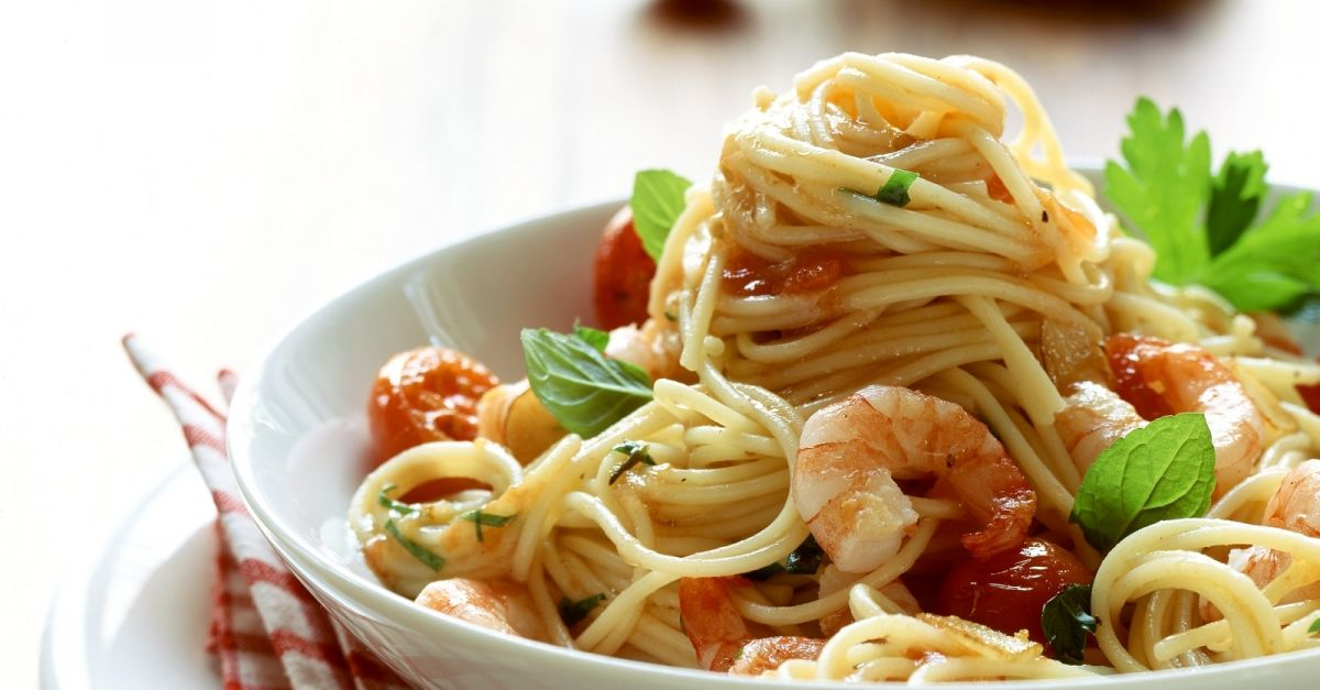 pasta mit garnelen rezept