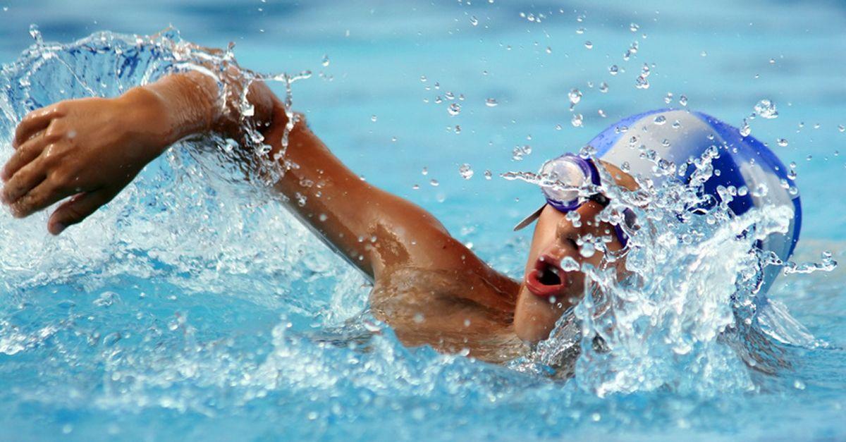 Schwimmen für übergewichtige