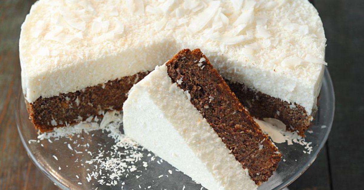 Vegane Mohn Kokos Torte Rezept Eat Smarter