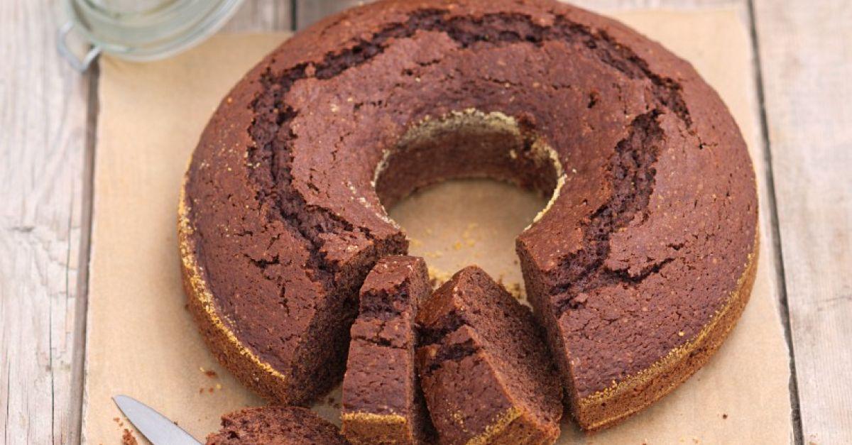Veganer Schoko-Nuss-Kuchen