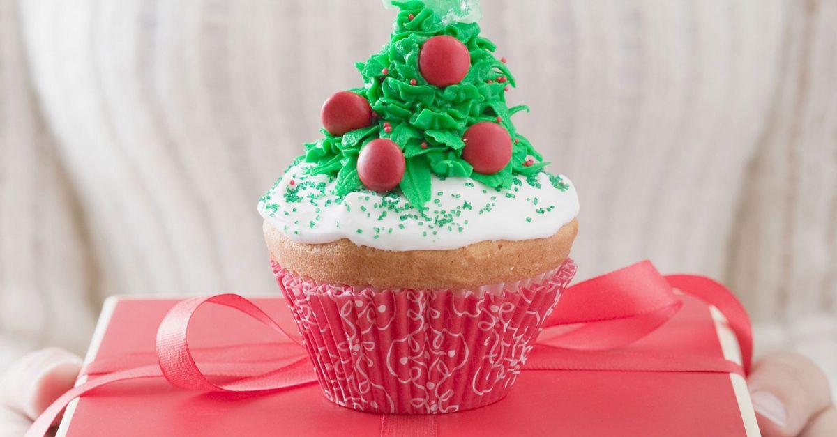 weihnachtsbaum cupcake rezept eat smarter. Black Bedroom Furniture Sets. Home Design Ideas