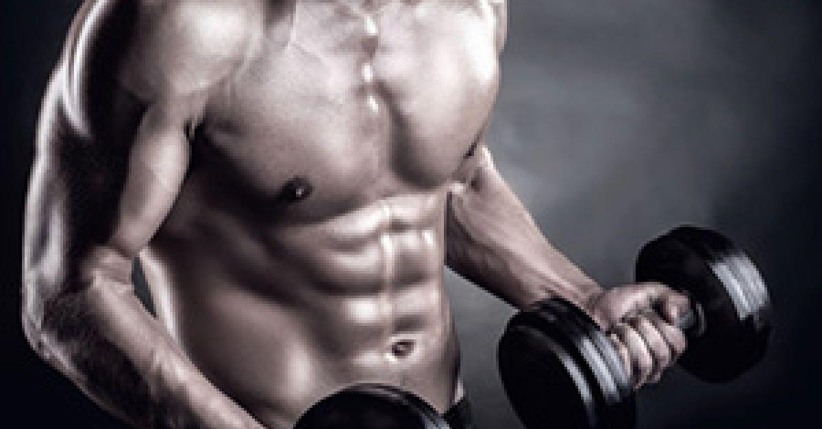 Diät, um die Muskeln Frau zu markieren