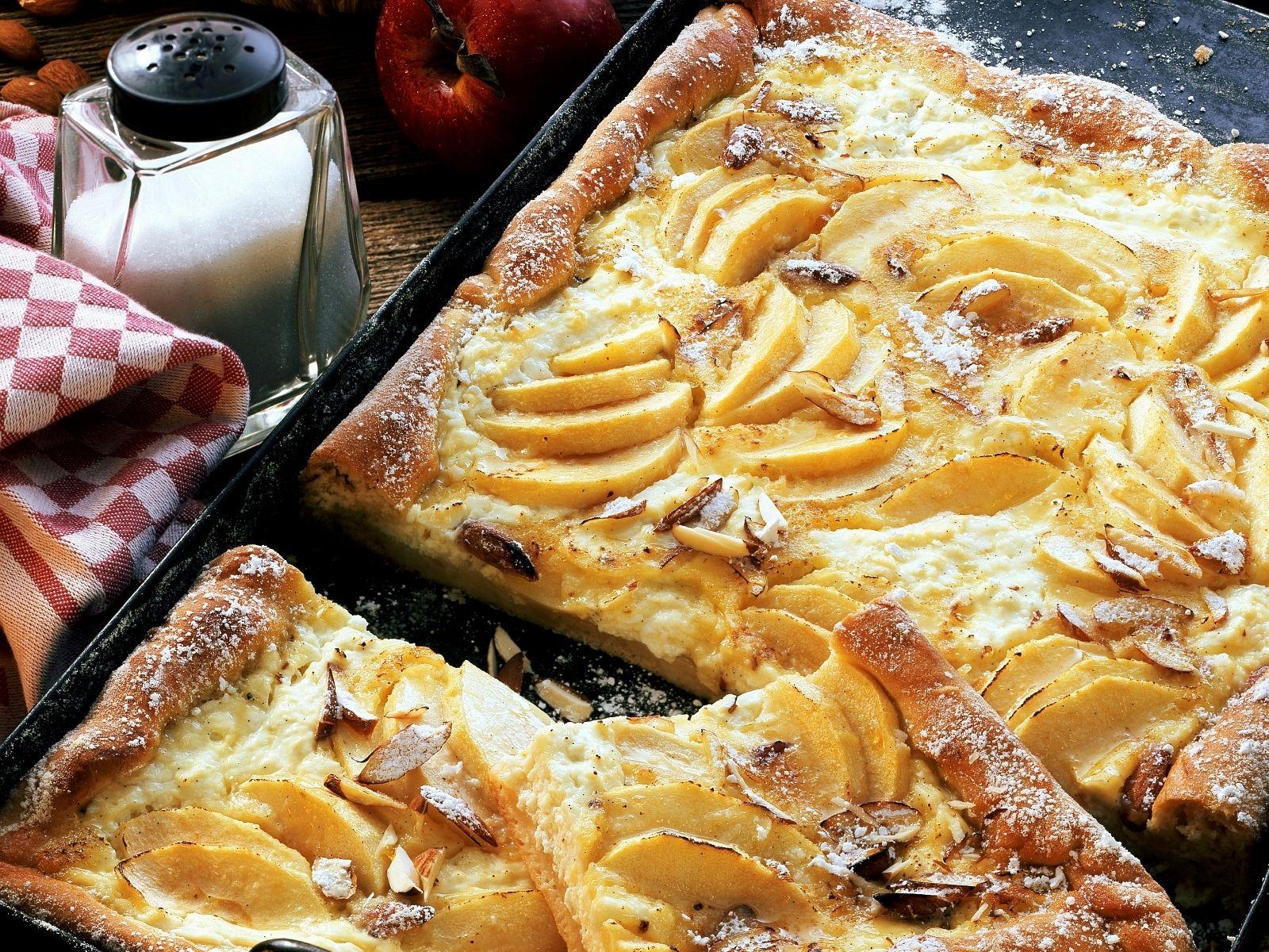 Apfel Kase Kuchen Nach Frankischer Art Rezept Eat Smarter