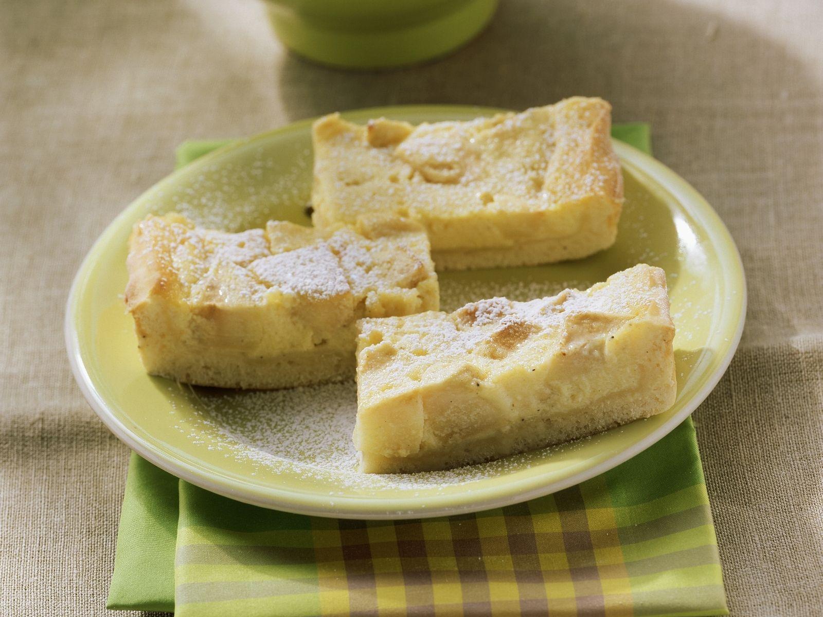 Apfel Quark Schnitten Rezept Eat Smarter
