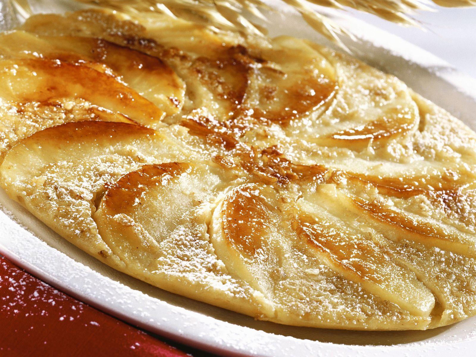 apfelpfannkuchen rezept einfach