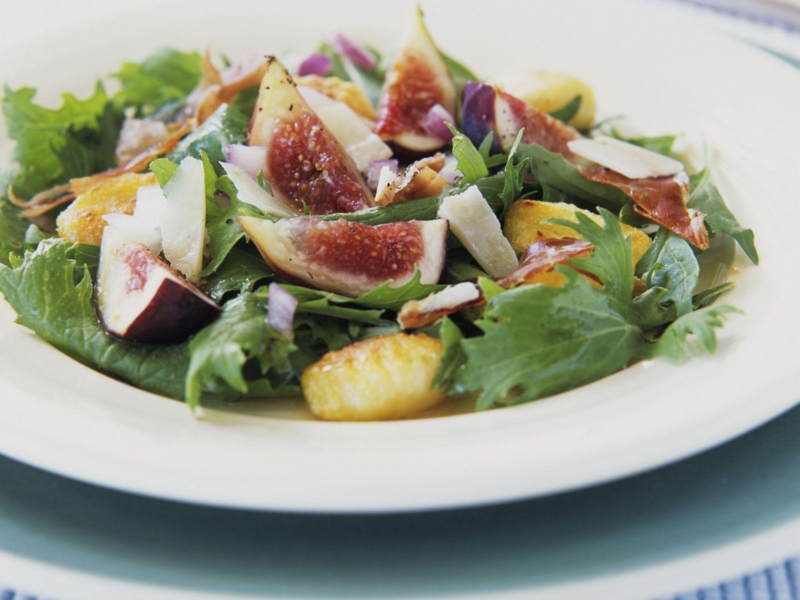 Blattsalat Mit Gnocchi Und Feigen Rezept Eat Smarter