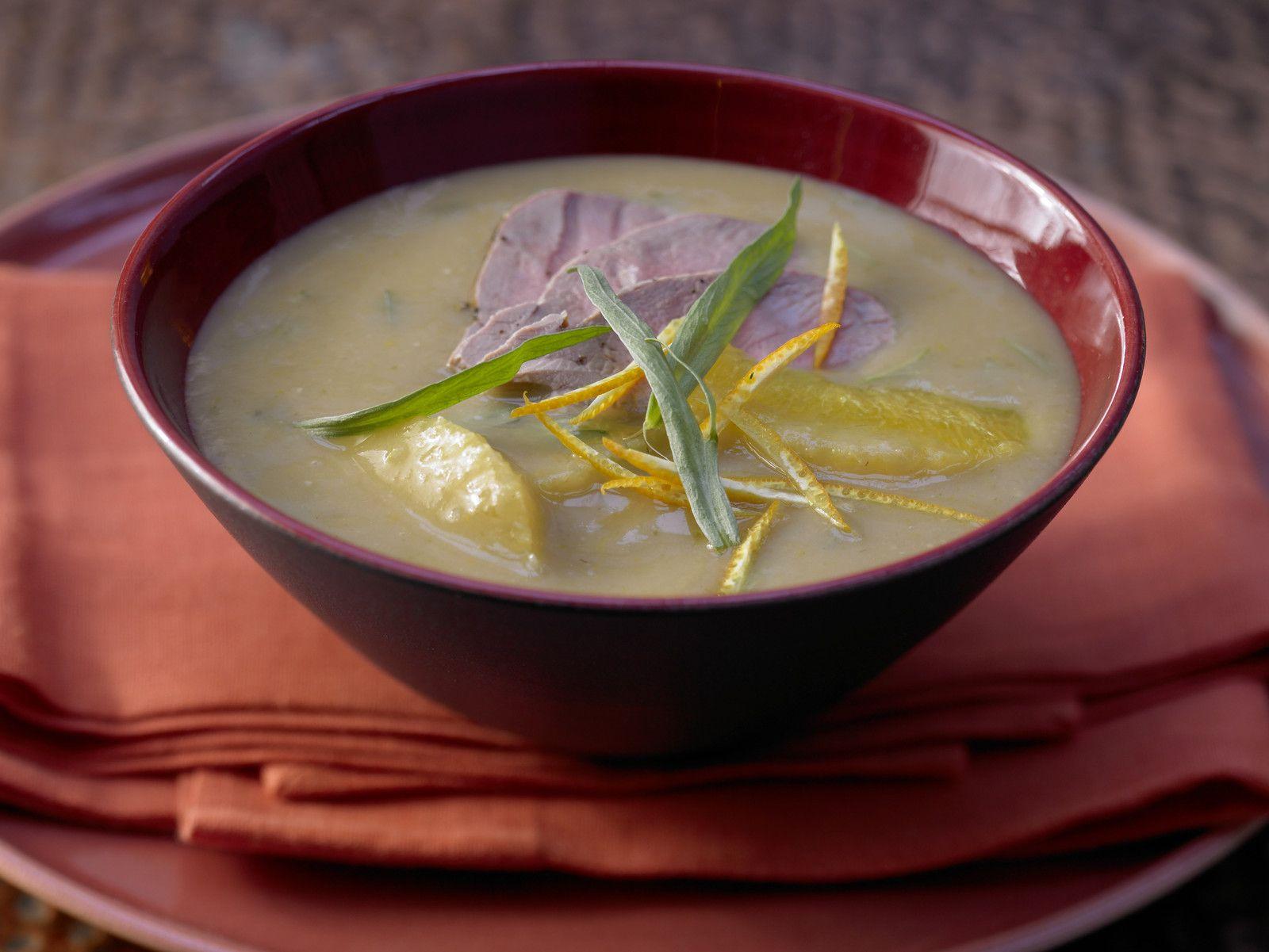Bohnen-Orangen-Suppe Rezept   EAT SMARTER