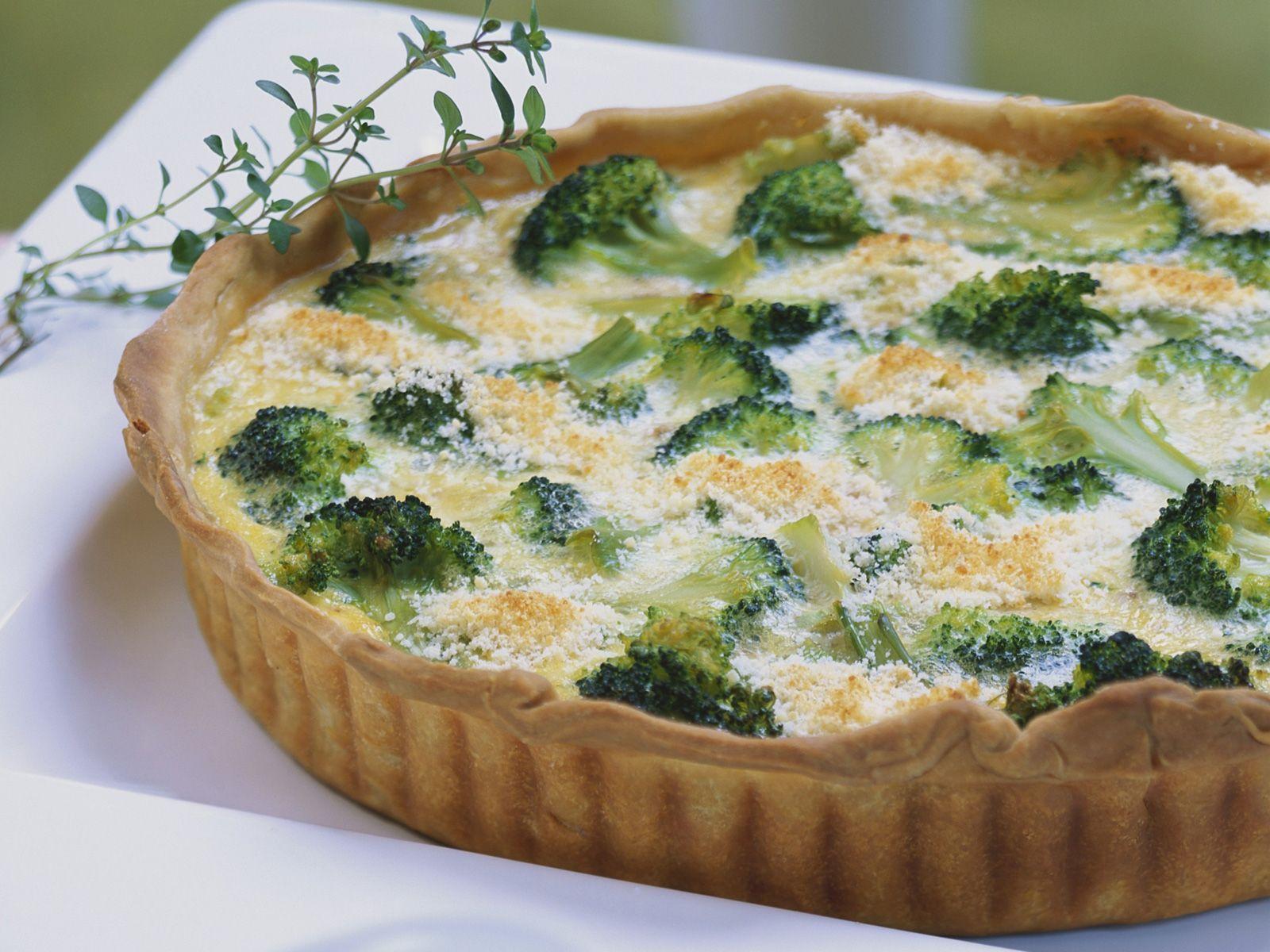 brokkoli walnuss quiche rezept eat smarter