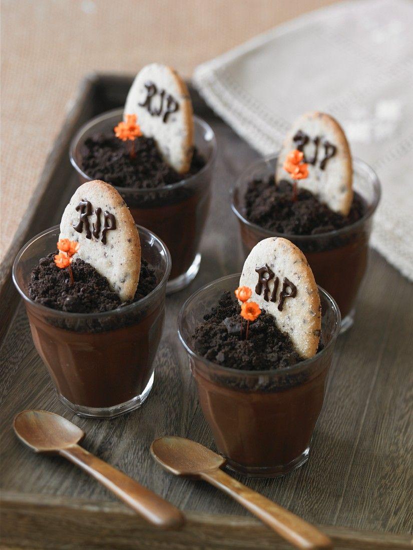 Halloween Schokopudding Rezept Eat Smarter