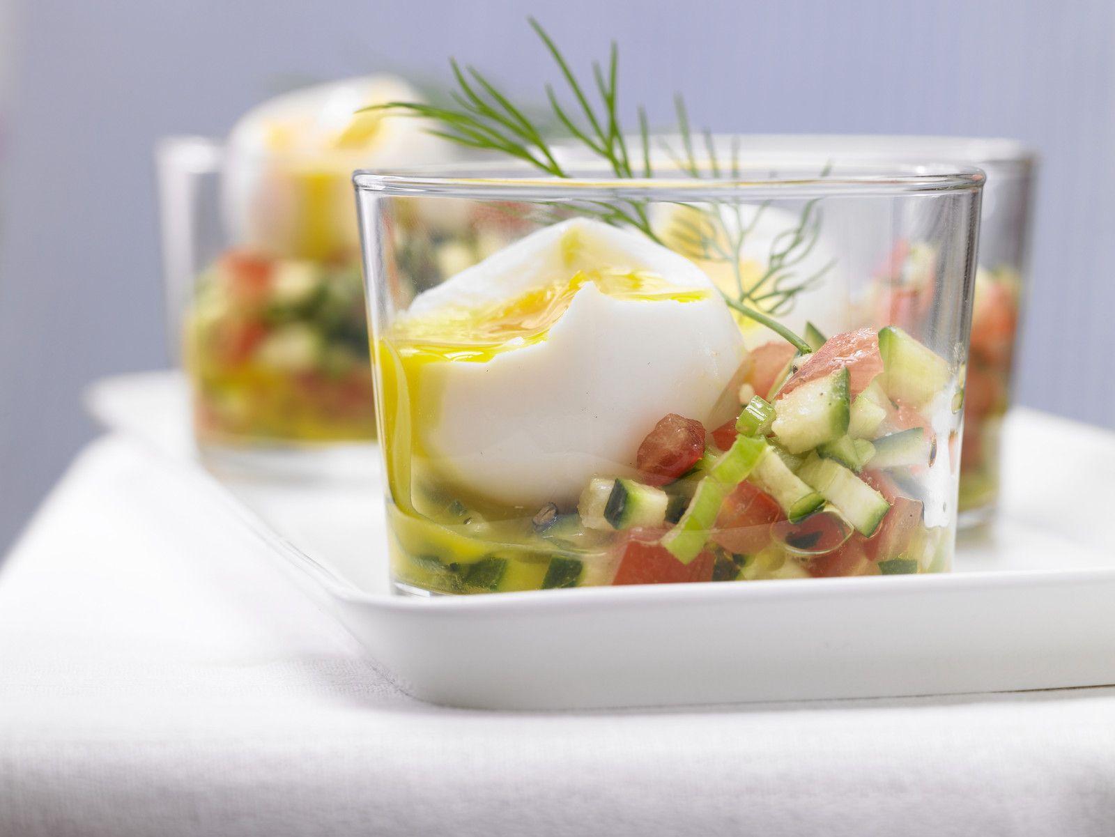 Spargelsalat spargel aus dem glas