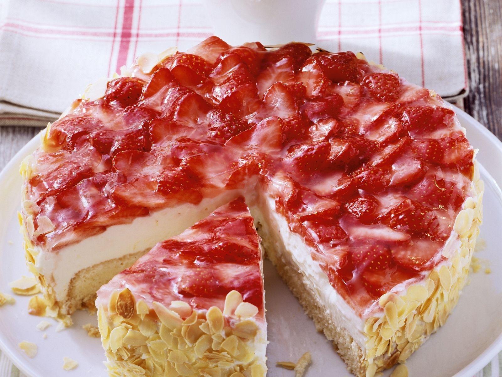 Erdbeer Quark Torte Rezept Eat Smarter