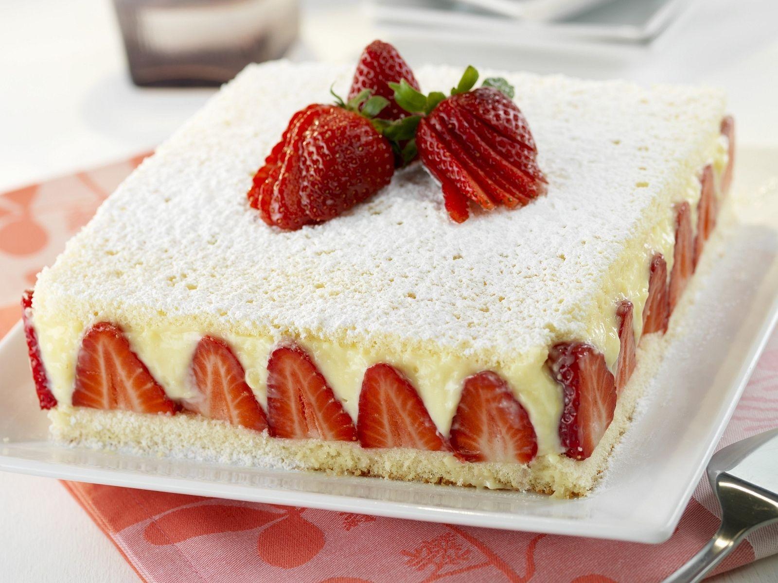 Erdbeer Vanille Torte Rezept Eat Smarter