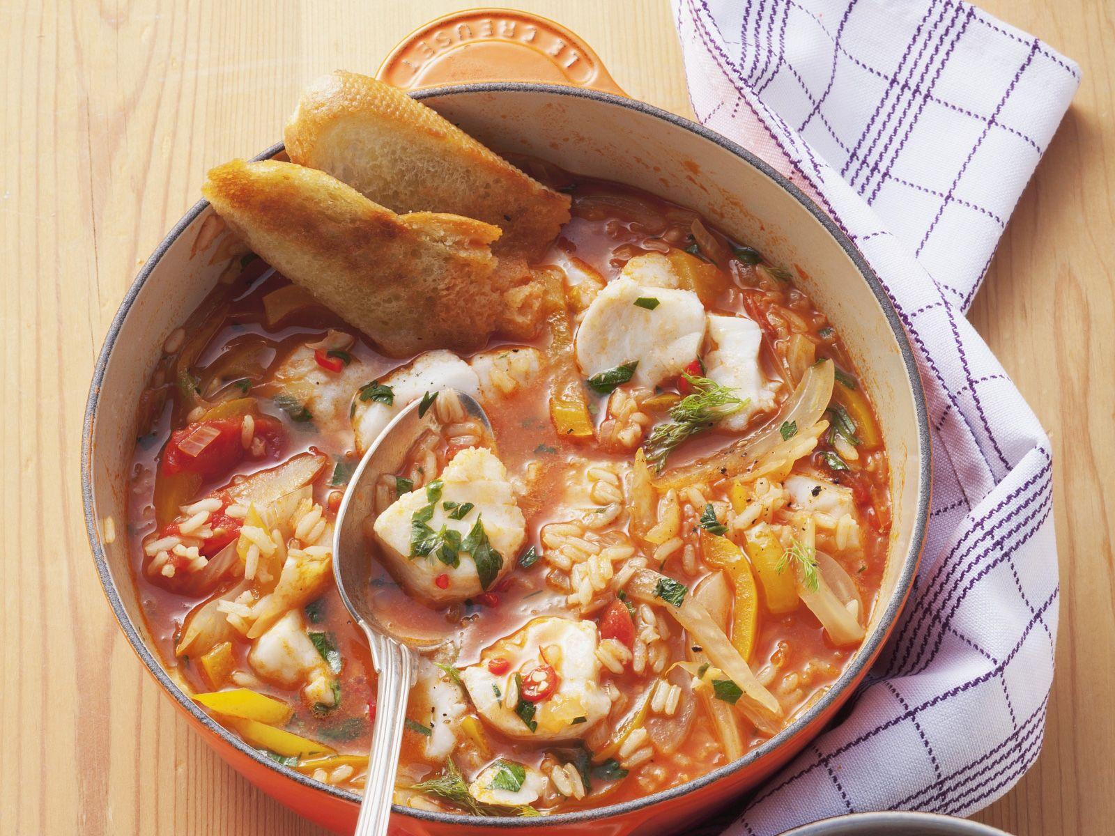 fischsuppe mit fenchel