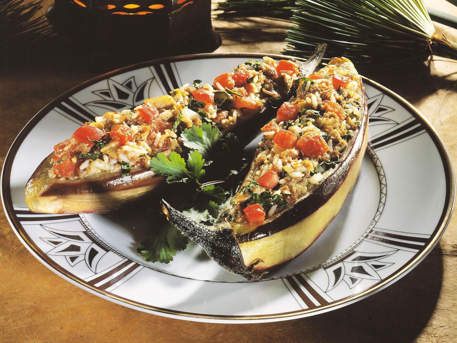 Ägyptische Küche | Gefullte Auberginen Auf Agyptische Art Rezept Eat Smarter