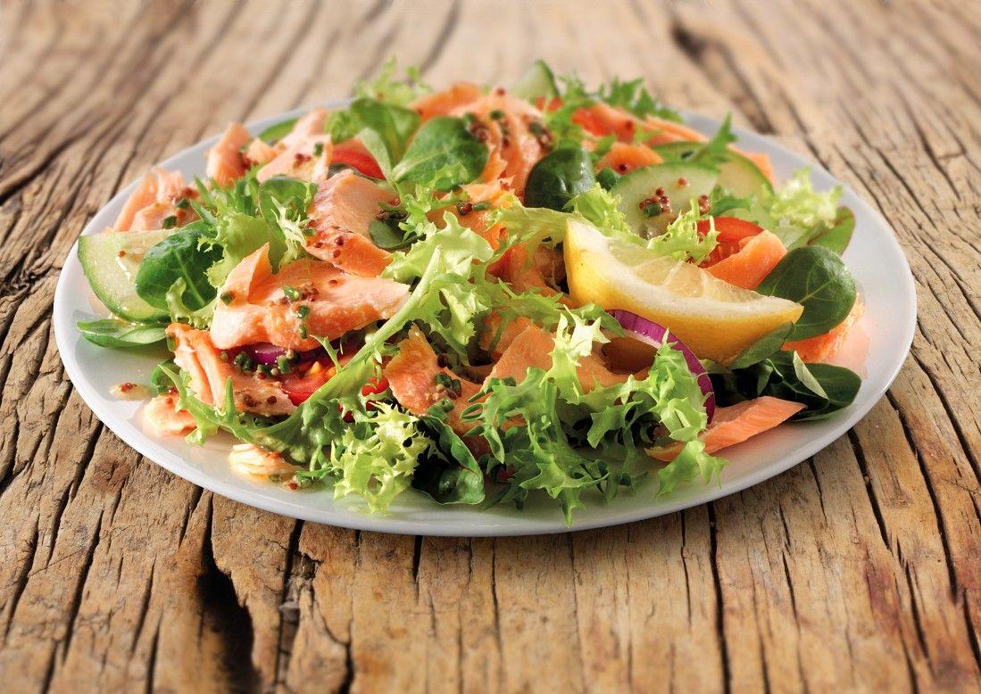 Rezept salat raucherlachs