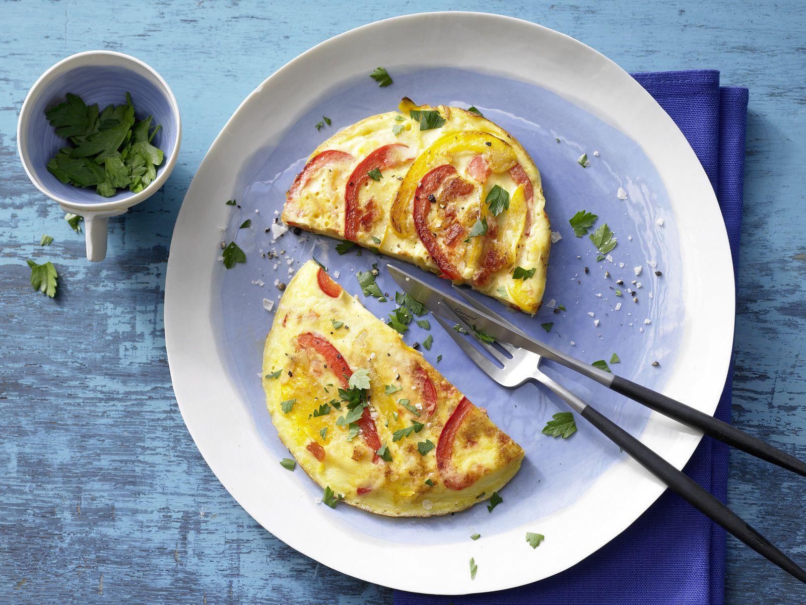 Rezept Für Omelett gemüse omelett rezept eat smarter