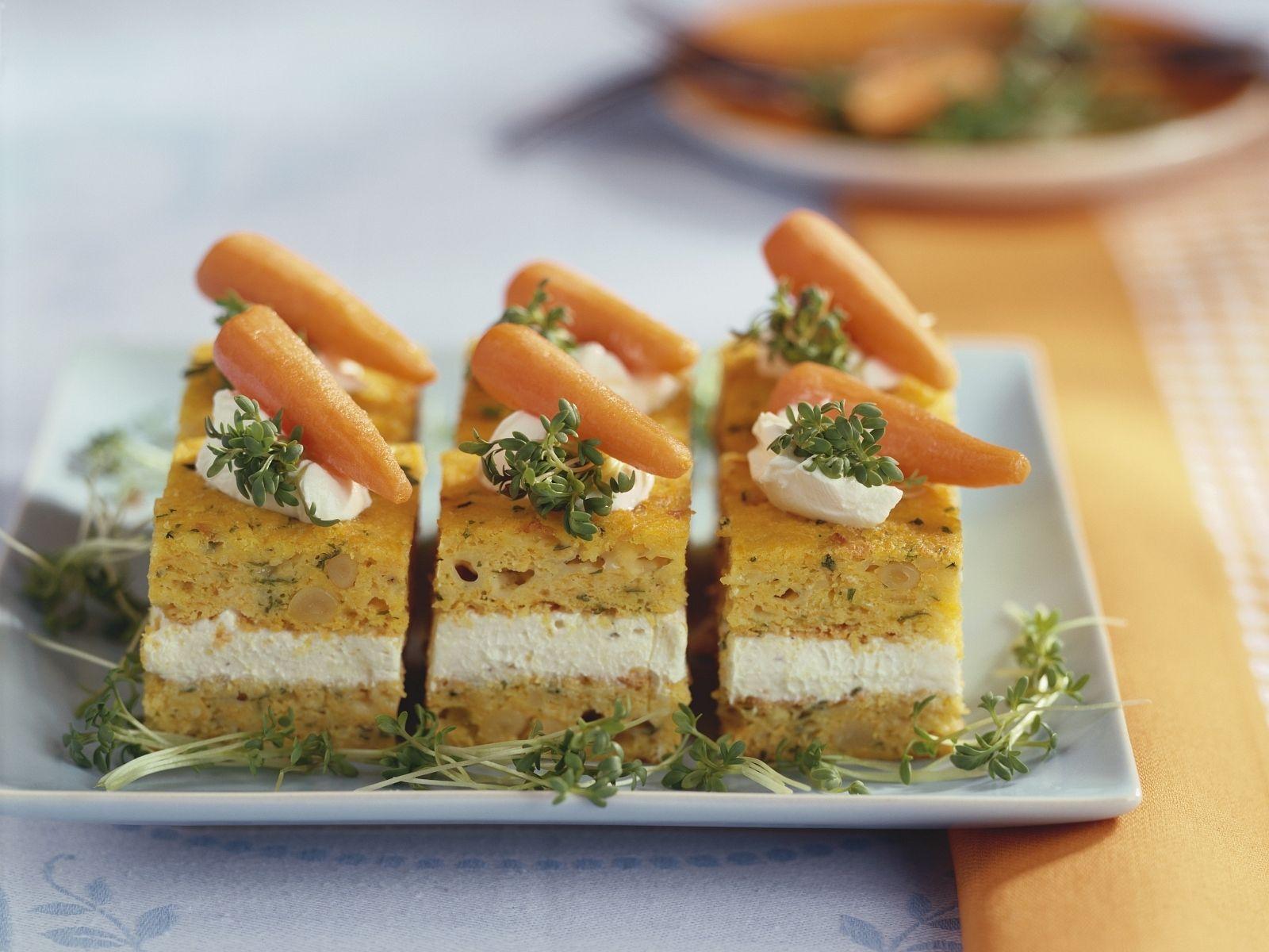 Herzhafter Karottenkuchen Rezept | EAT SMARTER