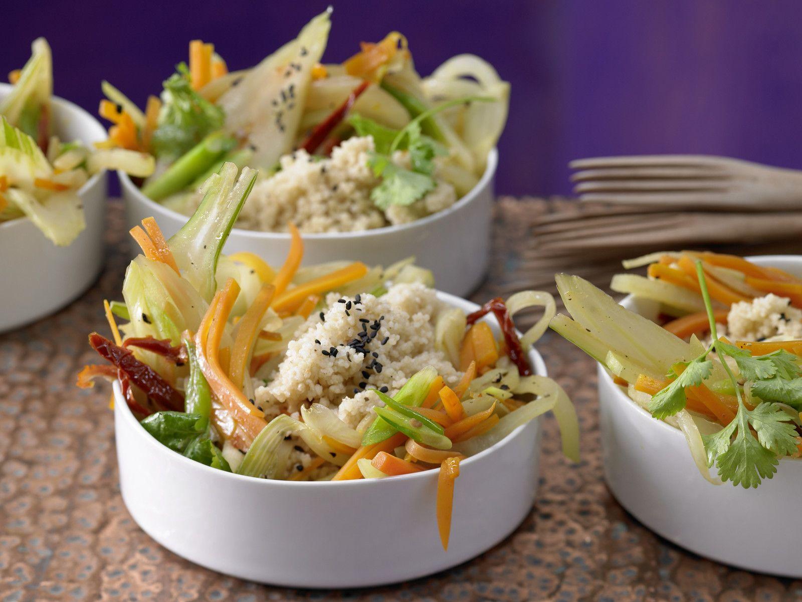 Couscous Mit Honig Gemüse Rezept Eat Smarter