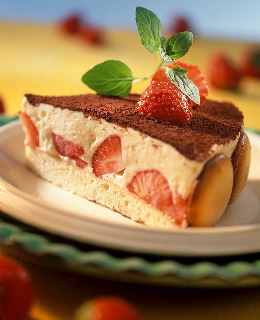Italienische Erdbeer Quark Torte Rezept Eat Smarter