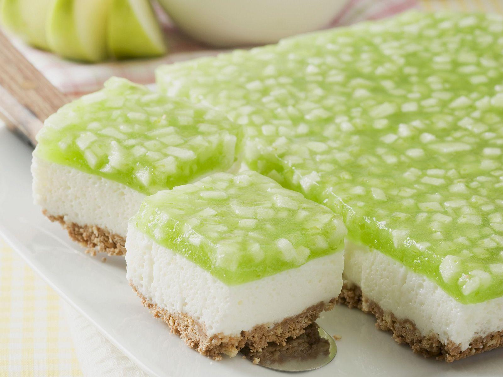 Joghurtkuchen Mit Apfelglasur Rezept Eat Smarter