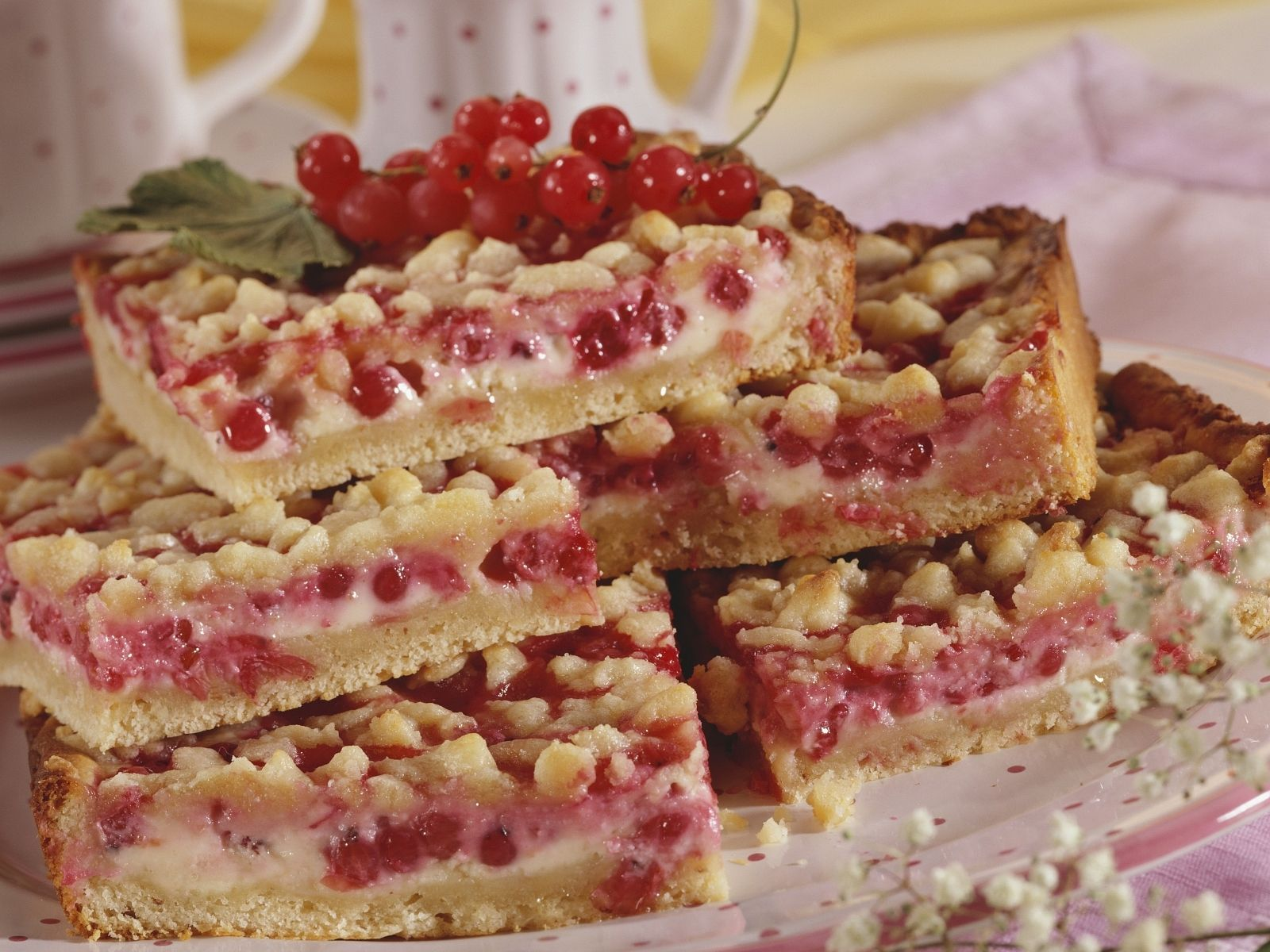 Johannisbeer Streusel Kuchen Rezept Eat Smarter